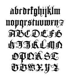 Kaligrafi harfler