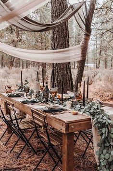 30 Free-Spirited Bohemian Wedding Ideas ♥ The stylistics of the boho wedding is easy to create and it is so beautiful. We have collected the best bohemian wedding ideas for your inspiration. Bohemian Wedding Decorations, Church Wedding Decorations, Wedding Themes, Wedding Ideas, Wedding Planning, Wedding Dresses, Bohemian Weddings, Decor Wedding, Wedding Inspiration