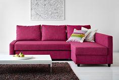 IKEA Sofa beds... ohhhh I REALLY want this sofa!!! I hope it's comfy!!! Friheten £445