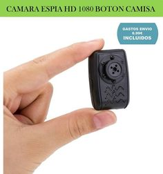 Mini video camara espia HD 1080 pixeles. Gadgets de espionaje, videocamaras de seguridad y vigilancia para el hogar.