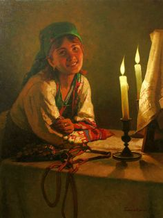 Epiphany Eveng ~ Eugeni Balakshin (1962,Russian)
