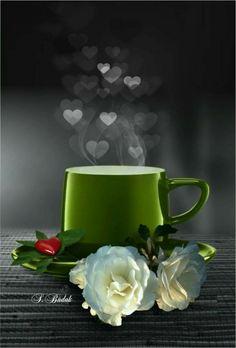 Good morning ~ art cafe, hora do café, morning coffee, coffee break, Coffee Break, Coffee Gif, Good Morning Coffee, I Love Coffee, Coffee Cups, Tea Cups, Gd Morning, Art Cafe, Coffee Pictures