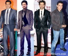Kings of Bollywood!  Salman Khan - Shah Rukh Khan - Hrithik Roshan - Aamir Khan