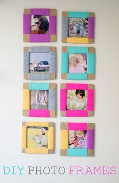How To Make A Cardboard DIY Photo Frame