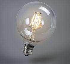 Toute en rondeur. C'est ce qui caractérise le mieux cette superbe ampoule vintage. Elle apportera de la chaleur dans vos pièces.