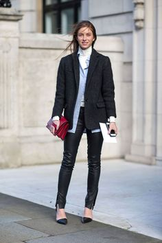 LFW is in full swing - check out the best street style looks here.