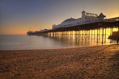 Brighton Peer // by Ben Locke Photography