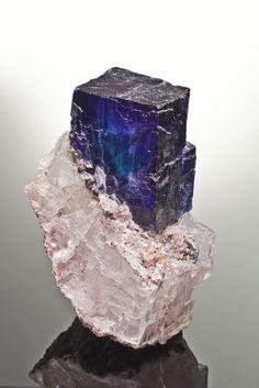 Halite, Sylvite  Kerr McGee mine, Carlsbad, Eddy County, New Mexico