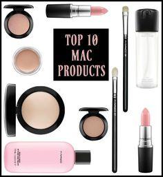 My Top 10 MAC Products #makeup #mca #beauty