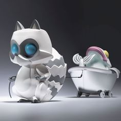 "Coarse Toys ""Permanent Guest"" vinyl art toy announced!!!"