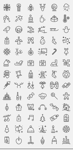 Showcase and discover creative work on the world's leading online platform f… – Zeichnung , Kritzeleien und mehr Doodle Drawings, Easy Drawings, Doodle Art, Christmas Doodles, Christmas Icons, Easy Christmas Drawings, Christmas Sketch, Christmas Tattoo, Christmas Design
