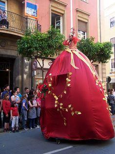 Batalla de las Flores de Murcia .
