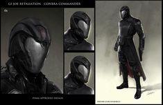 GI Joe  concept art - Cobra Commander