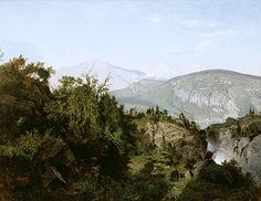 Title: In the Adirondack Mountains, 1857 Artist: William Trost Richards Medium: Hand-Painted Art Reproduction