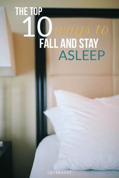 Falling and staying asleep is more common than you think. But it could be wreaking havoc on your health. | GenTwenty