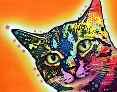 Colorful Cat Portraits By Dean Russo