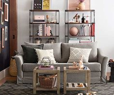 Little homes, meet big style. Pottery Barn's latest home decor collection aims to maximize the function of your smallest spaces all while maintaining the quality and detail you love.