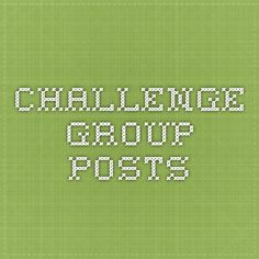 Challenge Group Posts
