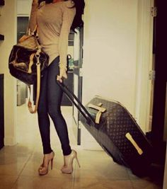 Sexy casual and travel ready outfit Louis Vuitton Luggage, Packing List For Travel, Thanksgiving Outfit, Blouse Dress, Work Casual, Fashion Killa, Classy Outfits, Autumn Winter Fashion, Fall Fashion