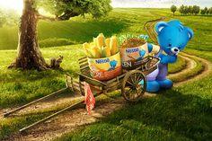 Papinha Nestle on Behance