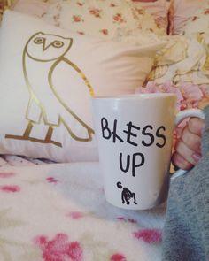 Bless Up Drake and DJ KHALED coffee mug by darlingBhuman on Etsy