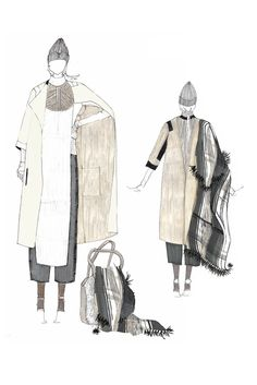 Fashion Sketchbook - fashion design; fashion illustrations; fashion portfolio // M. Patmos