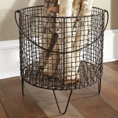 Wisteria - Accessories - Shop by Category - Office & Storage - Iron Mesh Basket - Large