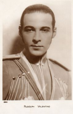 Rudolph Valentino                                                       …