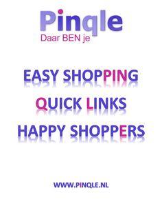 De Shopper staat centraal! Laat het makkelijk, snel en vrolijk zijn! Pinqle dus!
