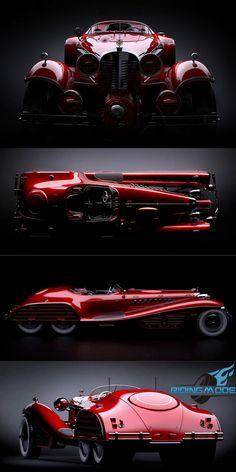 The Red Skull Coupe Concept - Hail Hydra!-The Red Skull Coupe Concept – Hail Hydra! Red Skull + Coupe + Concept + Red Skull Coupe Concept + Daniel Simon + Mercedes + Mercedes 540 K + Mercedes + Captain America + supercharged - Mazda Concept Car, Mercedes Concept, Lamborghini Concept, Carros Lamborghini, Carros Bmw, Cars Vintage, Bmw Z4, Futuristic Cars, Unique Cars