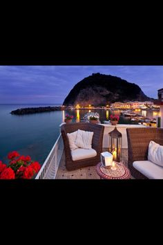 I stayed at this very hotel. the Miramar_ Ischia, Italy