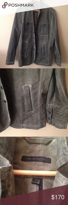 John Varvatos Men's • NWOT Rocker Jacket. NWOT • MEN's • Ultra sexy John Varvatos Rocker Jacket. Distressed finish. Size Small. John Varvatos Suits & Blazers Sport Coats & Blazers