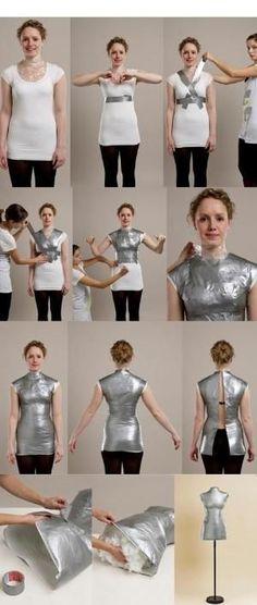 Risultati immagini per making a dress form