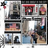 new york city scrapbook layouts - Yahoo Image Search Results