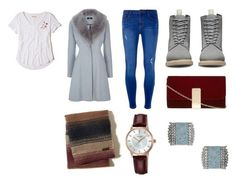 """Jan3rd"" by palefiction ❤ liked on Polyvore featuring Hollister Co., Dorothy Perkins, Dr. Martens and Pulsar"