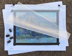 How to transport pastel paintings, part II, by Richard McKinley. Click the image to read his article. ~ch #pastelpainting #artadvice