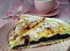 Křehký koláč s tvarohem a mákem - recept | Varecha.sk Tiramisu, Sweet Tooth, Pie, Ethnic Recipes, Desserts, Food, Pinkie Pie, Tailgate Desserts, Pastel