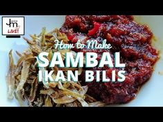 Here's the full LIVE video broadcast and complete recipe of how to make sambal ikan bilis from Jackie M Live Asian Kitchen. Malaysian Cuisine, Malaysian Food, Malaysian Recipes, Asian Kitchen, Complete Recipe, Asian Recipes, Cooking Recipes, Beef, Dishes