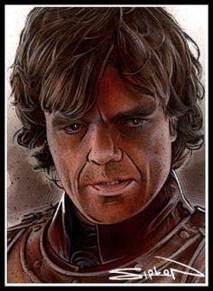 Tyrion Lannister by RandySiplon on deviantART