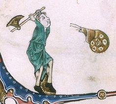 The Gorleston Psalter Date 1310-1324 Add MS 49622 Folio 180v