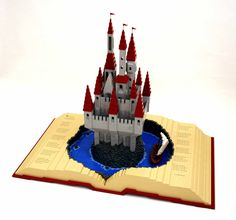 ... You know, like those old LEGO pop-up books we used to read as kids?