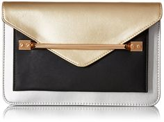 "Aldo Perm Clutch Handbag | Clutch Handbags---- Color: Silver  ---- 100% Polyester lining---- Flap closure---- 25"" shoulder drop---- 8"" high---- 11.75"" wide---- Beautiful,Elegant,Simple and Cute Clutch Handbags suitable for wedding,casual and party for Summer/Spring of 2016---- Great for gift----  Essentials------"