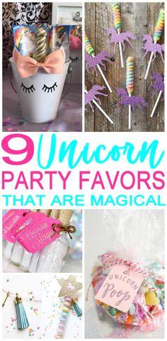 GET the BEST Unicorn Party Favors! AMAZING party favor ideas for a Unicorn  theme party! DIY ideas 964085612d8c