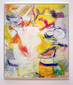 """""""Pirate (Untitled II),"""" by Willem de Kooning, oil on canvas, 7 feet 4 inches by 6 feet 4 3/4 inches, 1981, The Museum of Modern Art, New York, Sidney and Harriet Janis Collection Fund"""