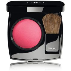 CHANEL JOUES CONTRASTE Powder Blush Hyperfresh (€37) ❤ liked on Polyvore featuring beauty products, makeup, cheek makeup, blush, chanel blush, powder blush and chanel