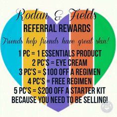 I love referrals! Great R+F prizes! Sbranca.myrandf.com