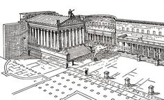 Forum of Augustus. Rome. 1st century BCE.