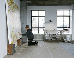 Brice Marden Studio | Yellowtrace