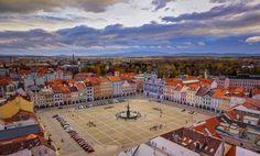 Beautiful Square, Ceske Budejovice by Petr Kubát on 500px.