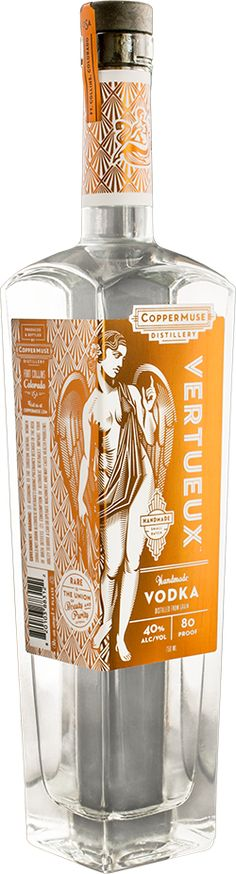 Vertueux® Vodka — CopperMuse® PD